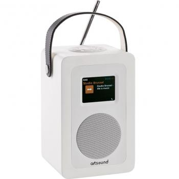 ArtSound Radio R4 - WiFi, Internetové, FM a DAB+ rádio