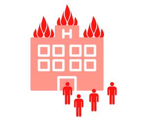 Hotel horí - chráňte svoj majetok aj pomocou HSP