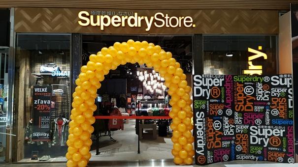 SuperDry Store predajňa Aupark
