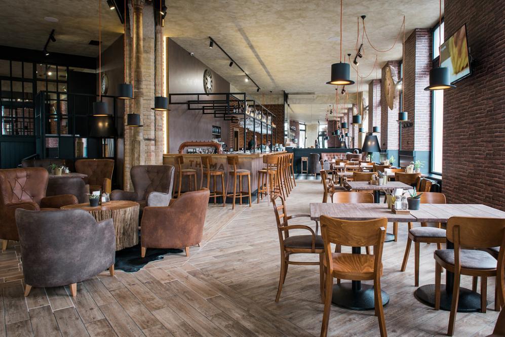 Reštaurácia Thema interiér