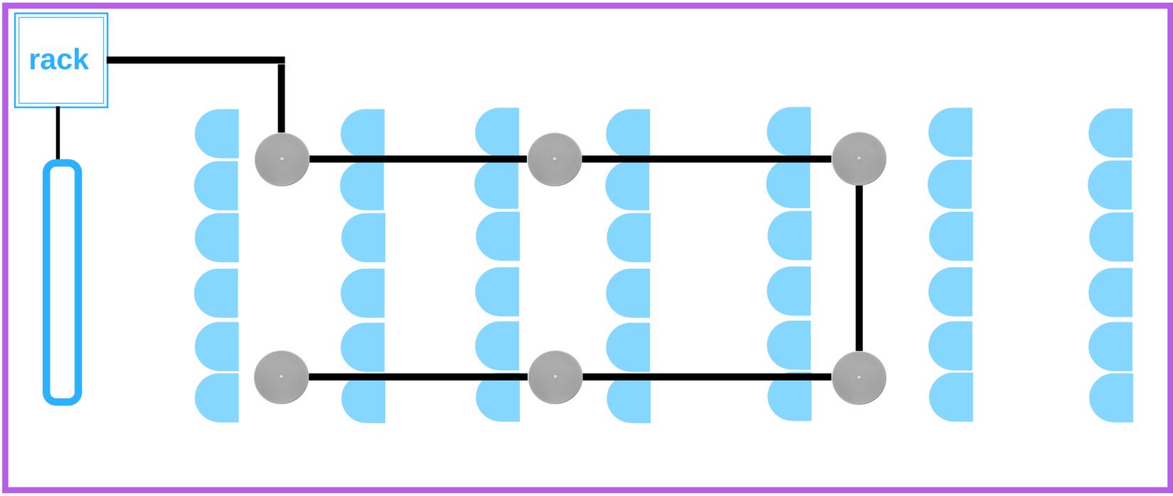 schéma - prezentačná miestnosť