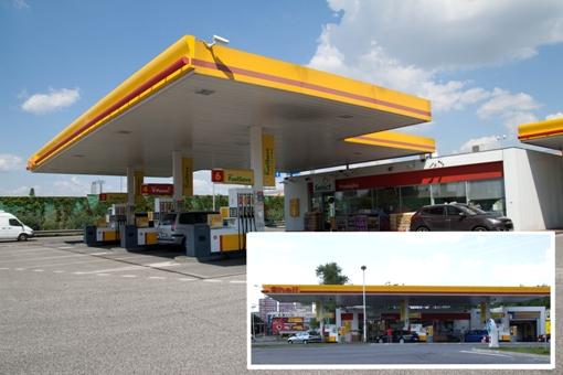 Čerpacie stanice Shell