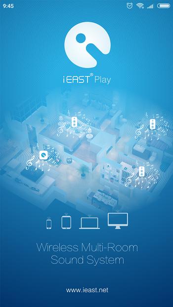 spustenie aplikácie iEAST Play
